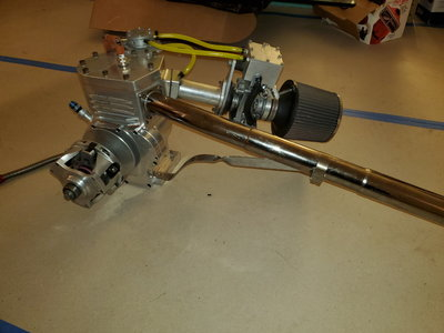 ZR4 3-3/4 Billet racing engine and clutch