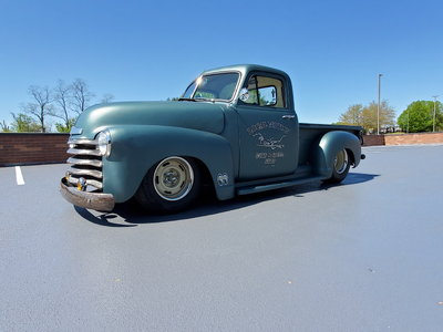 1952 Chevy Pick Up Hot Rod