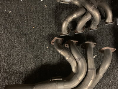 2 step 4 to 1 stainless headers
