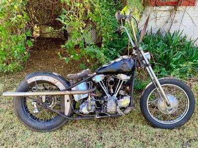 1947 knucklehead Harley barn find
