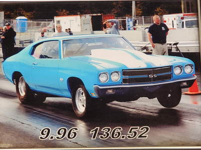 1970 Chevelle SS Race Car For Sale~582 Scott Shafiroff Motor