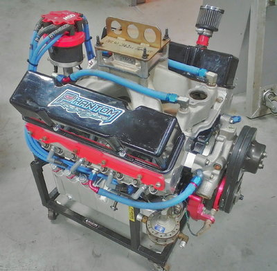 NEW 362ci TOPLESS OUTLAW SERIES RACE ENGINE