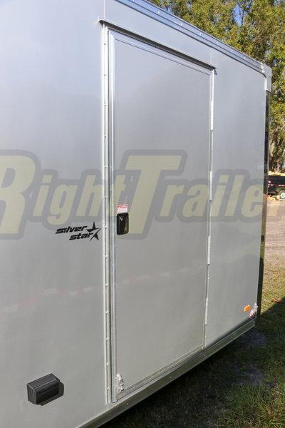 2021 8.5x24' Bravo Race Trailer with Premium Escape Door