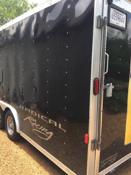 22ft Black Homesteader Racing Trailer  for Sale $7,900
