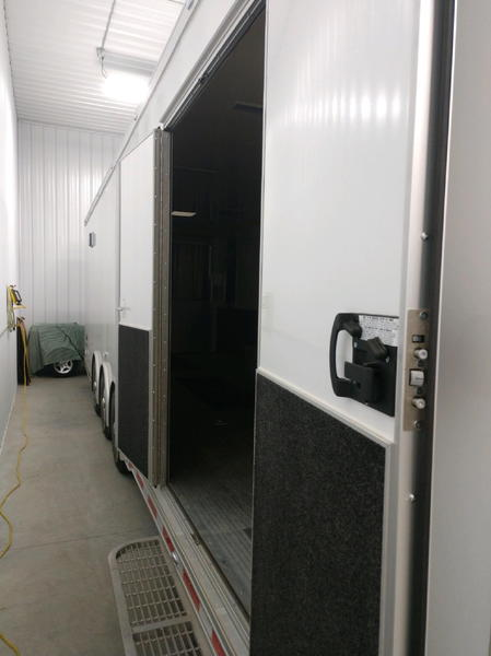 2019 intech all aluminum enclosed trailer  for Sale $36,950