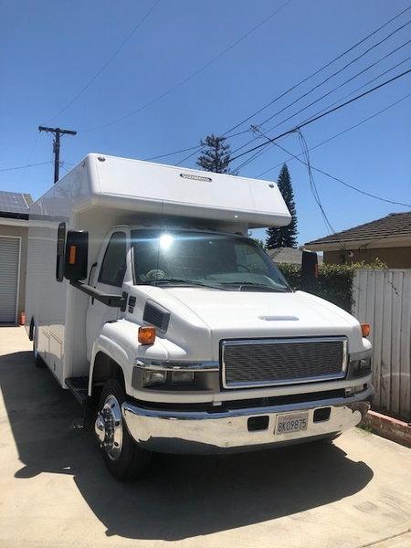 C-4500 custom box van  for Sale $45,000