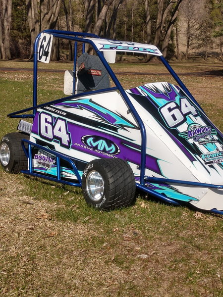 Early 2000's Rage Cage Kart  for Sale $3,500