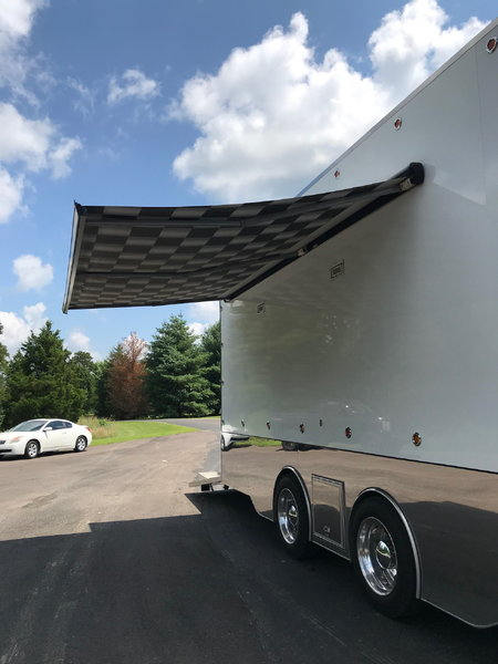 2017 C&S 30' STACKER TRAILER LIKE NEW LOADED WITH OPTION