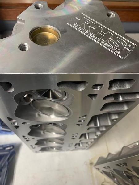 Borowski CNC Ported RHS LS3 Cylinder Heads  for Sale $2,750