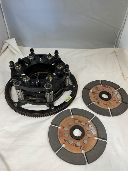 "7"" dual disc Charlie Westcott clutch  for Sale $4,200"