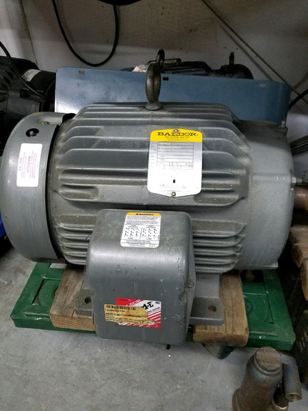 15HP 3 Phase Motor   for Sale $400