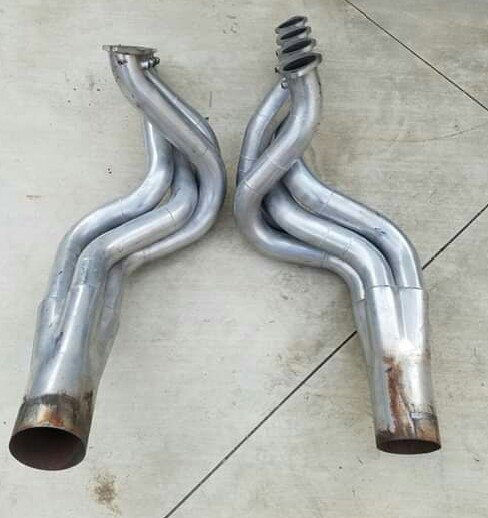 88-98 BBC fender well exit headers  for Sale $800