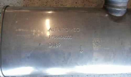 Nearly New 2019 Alfa Romeo Stelvio Exhaust  for Sale $500