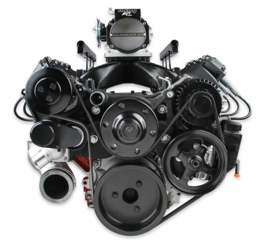 Holley Premium Mid-Mount LS Accessory System  for Sale $2,797