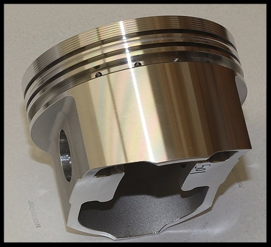 SBC CHEVY 427 DART SHORT BLOCK FORGED FLAT TOP 4.125 PISTONS  for Sale $3,550