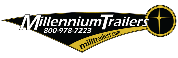Millennium Work Mate, Contractors Dream Trailer 8.5 x 16'