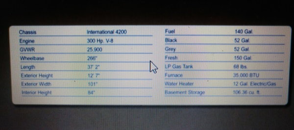 2008 Gulfstream Supernova 37' Motorhome 2 slides
