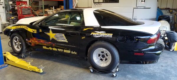 Procharged Drag Radial Trans Am  for Sale $38,000