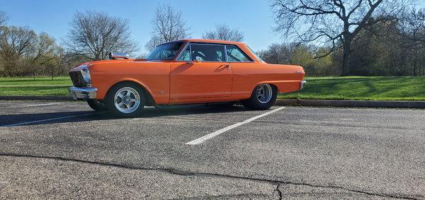 1965 chevy nova II 800hp