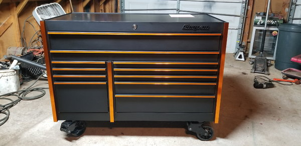 Snap-On Masters Series Roll Cab KRL Custom Box