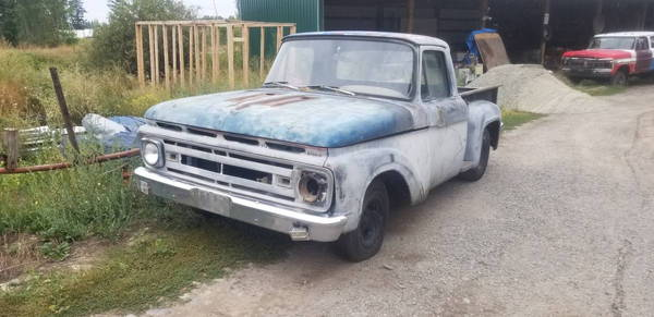 1962 Ford F-100  for Sale $1,050