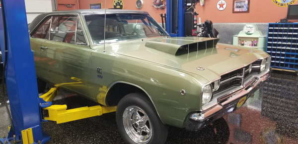 1968 Dodge Dart GTS   for Sale $74,000