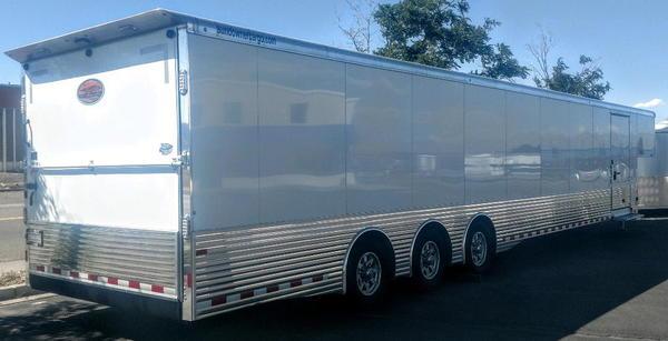 2019 Sundowner 48' Xtra Cargo Enclosed Race Trailer Triple A