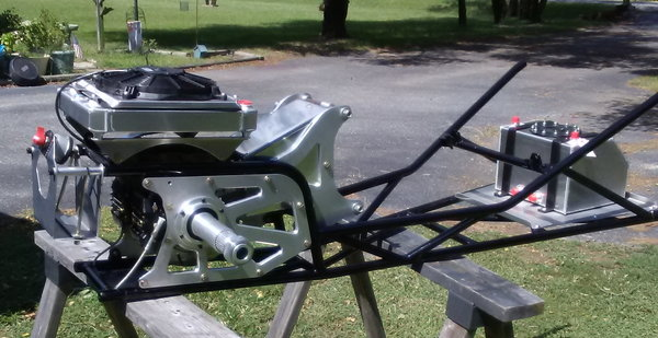 Jr. Comp dragster back half   for Sale $1