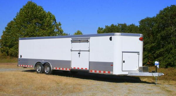 2019 Sundowner 30' Custom Aluminum Enclosed Car / Cargo Trai  for Sale $29,500