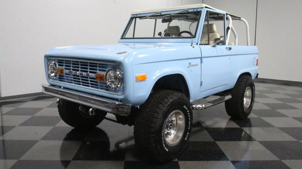 1977 Ford Bronco 4x4 Fuel Injected  for Sale $61,995