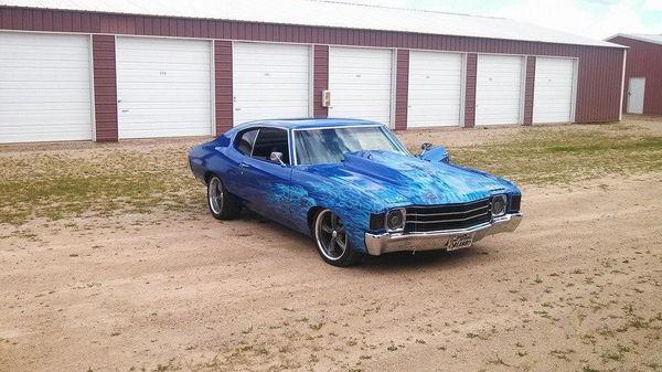 1972 CHEVROLET CHEVELLE  for Sale $29,949