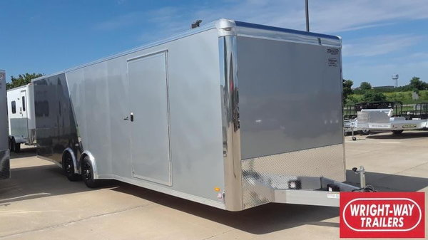 2020 Bravo 8.5X28 Aluminum Car / Racing Trailer  for Sale $15,250