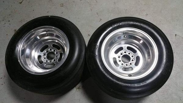 Mickey Thompson ET Drag Wheels  for Sale $1,250