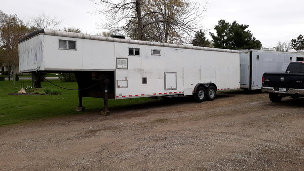 36 foot gooseneck Wells Cargo with living quarters  for Sale $11,500