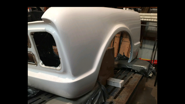 68 Chevy Front Fenders w/ Molded Bumper, Hood, *Steel*  for Sale $500