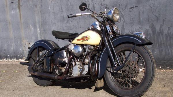 1939 Harley-Davidson EL KNUCKLEHEAD  for Sale $22,000