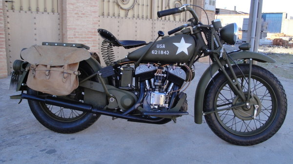 FS: 1941 Indian Scout 741   for Sale $14,500