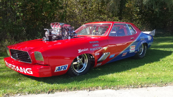 77 Mustang 8 second car  for Sale $30,000