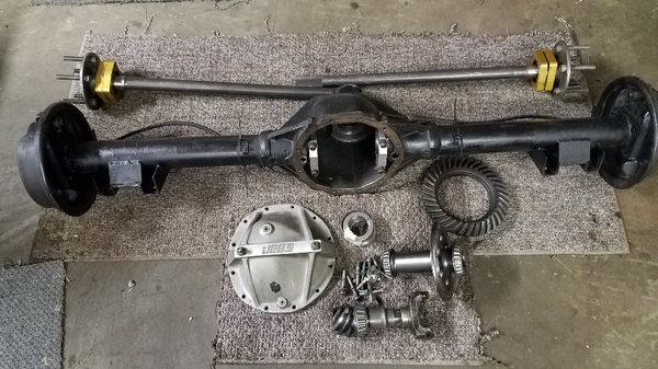 Camaro 12 bolt rearend.Strange axles,spool  for Sale $1,395