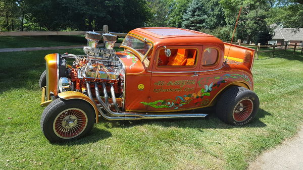 1932 Ford 5 Window All Steel Coupe  for Sale $48,000