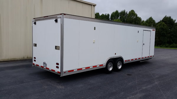 28' 2012 Gold Rush V-nose Tag Trailer  for Sale $34,000