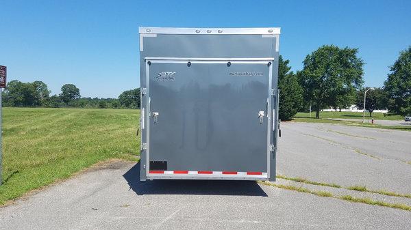 2020 ATC Quest Aluminum Enclosed Car Hauler  for Sale $17,900