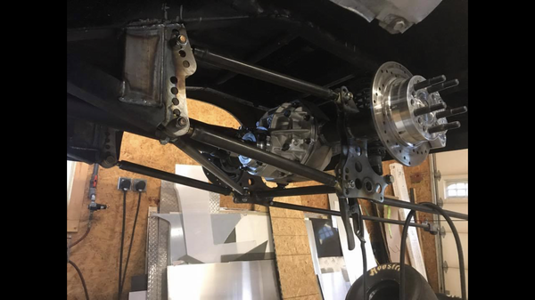 S-10 tube chassis 4 linked truck