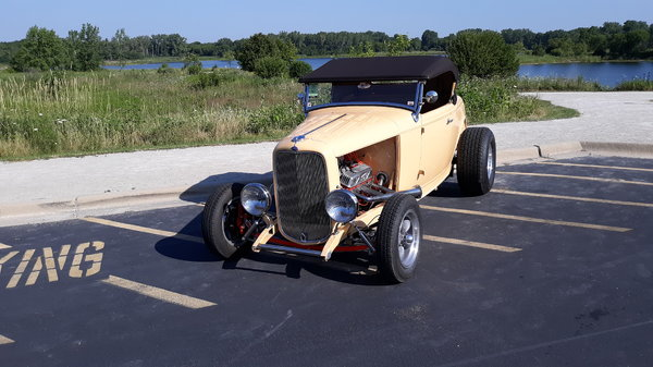Beautiful 1932 Steel Ford Hot Rod may trade