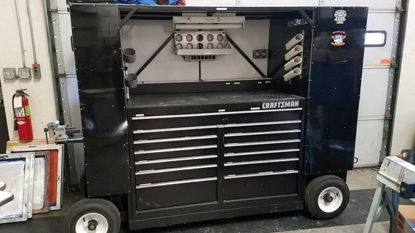 Racing Toolbox Cart  for Sale $1,800