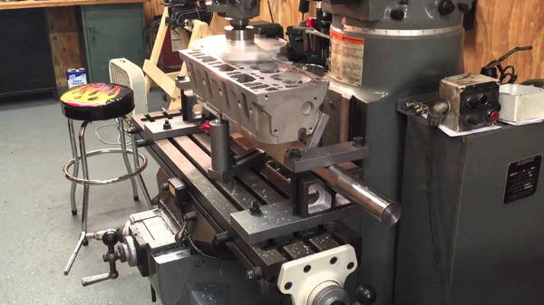 Cylinder Head holding Plate for Resurfacing Machines  for Sale $299