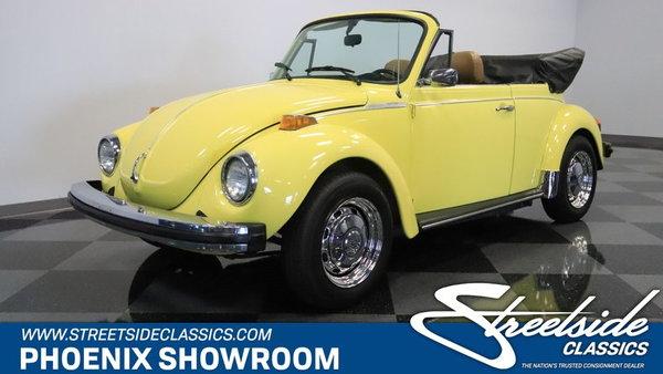 1979 Volkswagen Super Beetle Convertible 17 995