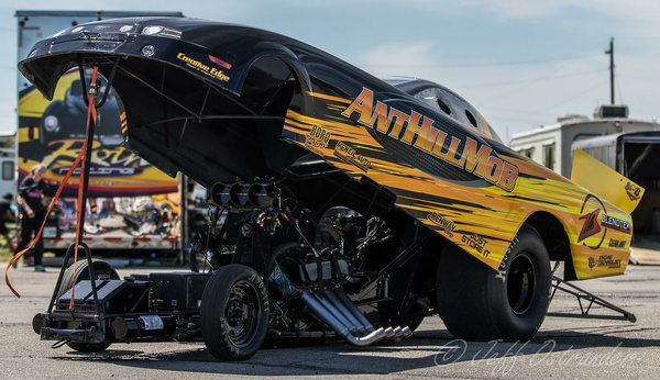 Mustang alcohol funny car   for Sale $24,000