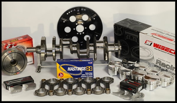 BBC CHEVY 572 MERLIN SHORT BLOCK FORGED +30cc DOME TOP  for Sale $4,595