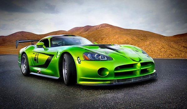 2008 Viper Comp Coupe FIA GT-3 Cup Car  for Sale $134,999